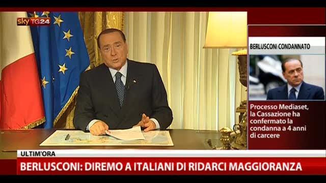 Processo Mediaset, il videomessaggio di Berlusconi