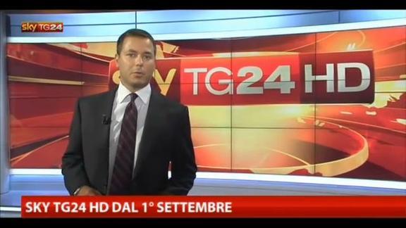 Sky TG24 HD dal 1° settembre