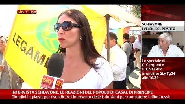 Intervista Schiavone, reazioni popolo di Casal di Principe