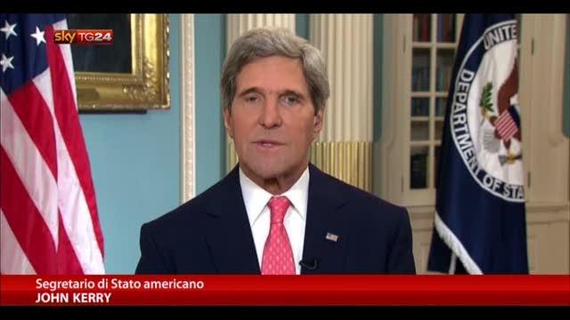 "Siria, Kerry: ""Gas Sarin usato in attacco"""