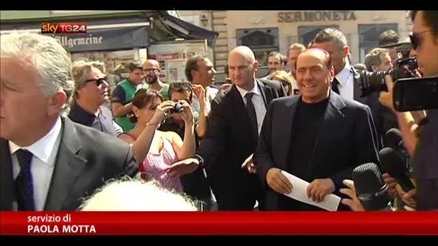 "Berlusconi: ""Nessun ultimatum, Letta avanti"""