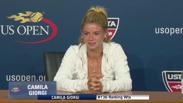 US Open, Giorgi agli ottavi: fuori la Wozniacki