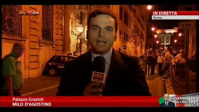 """Berlusconi:""""Domani il PDL voti contro la fiducia al Governo"""""""