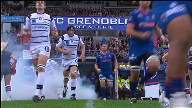 Rugby, Top 14: Grenoble-Brive 12-12