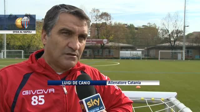 """Catania, testa al Napoli: """"Serve fiducia"""""""