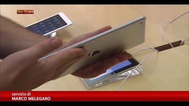 iPad Air, nei negozi c'è l'ultimo gioiello di casa Apple