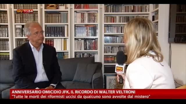 Anniversario Omicidio JFK, il ricordo di Walter Veltroni