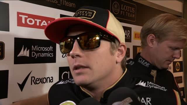 """GP Abu Dhabi, Raikkonen e la Lotus: """"Siamo professionisti"""""""