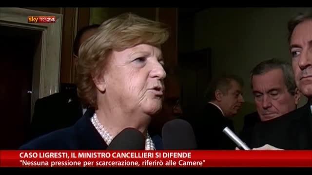 """Cancellierii, opposizioni all'attacco: """"Si dimetta"""""""