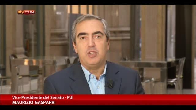 Cancellieri, Gasparri a Sky TG24:altro tassello fine governo