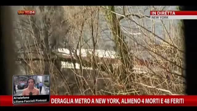 Deragliamento metro, almeno 4 morti e 48 feriti