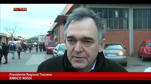 Incendio a Prato, Rossi: abbiamo i morti sulla coscienza