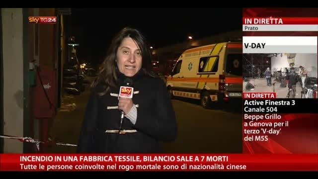 Incendio a Prato, bilancio sale a 7 morti