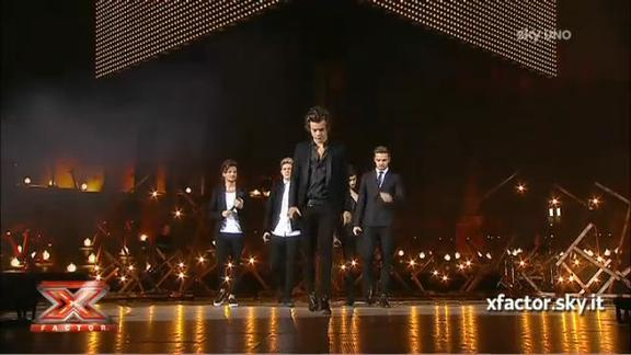 La Finale: la performance degli One Direction
