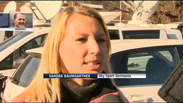 Schumacher, le voci dei giornalisti di mezzo mondo