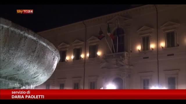Napolitano,maggioranza con Presidente,FI e M5S chiedono voto