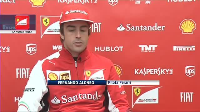 """Alonso, la sua F14T: """"Spero sia l'anno buono"""""""