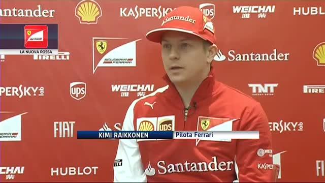 """Raikkonen: """"E' bello essere tornato in Ferrari"""""""