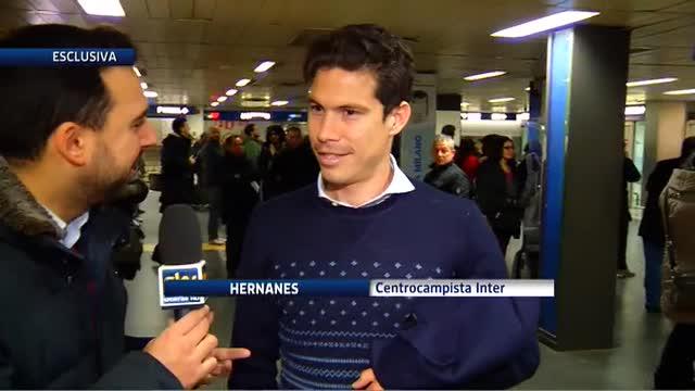 """Inter, Hernanes: """"Qui per tornare a vincere tutto"""""""
