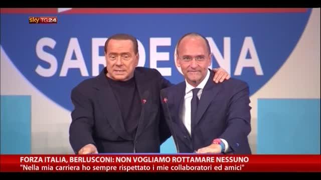 Berlusconi: in Forza Italia, non rottamiamo nessuno
