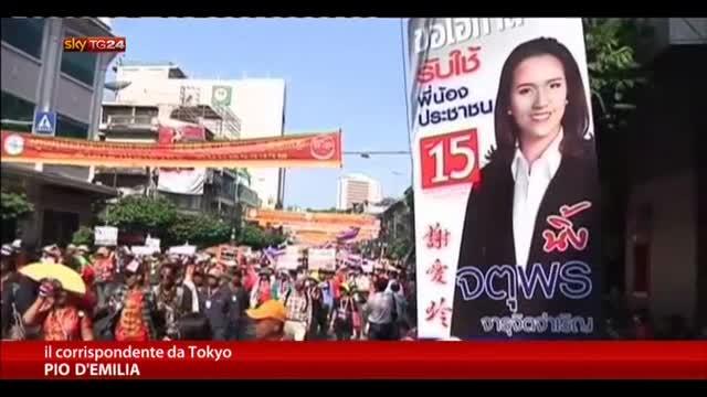 Thailandia, domani elezioni politiche anticipate