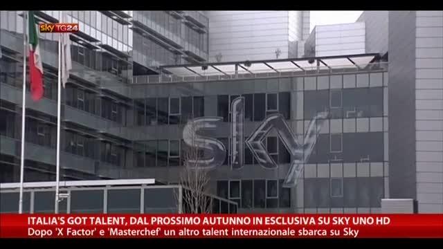 Italia's Got Talent, dal prossimo autunno esclusiva Sky Uno