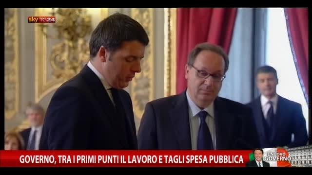 Governo Renzi in carica, domani voto di fiducia in Senato