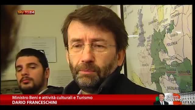 Franceschini: coniugare tutela e valorizzazione cultura