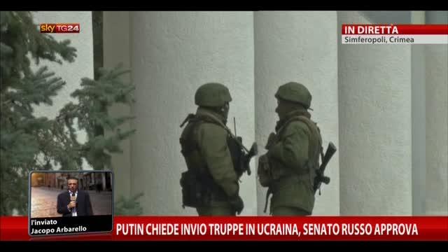 Putin chiede invio truppe in Ucraina, Senato russo approva