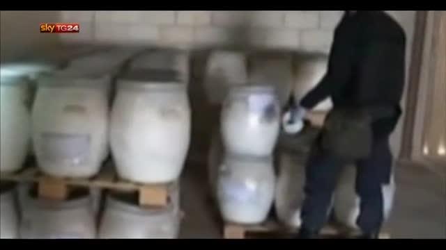 Armi chimiche Siria, slitta trasbordo a Gioia Tauro