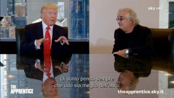 Il Boss e Donald Trump
