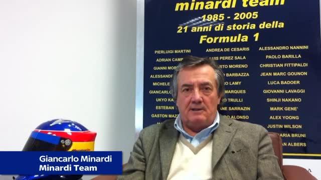 """Minardi: """"Sepang, un caldo della Malesia. E i rettilinei..."""""""