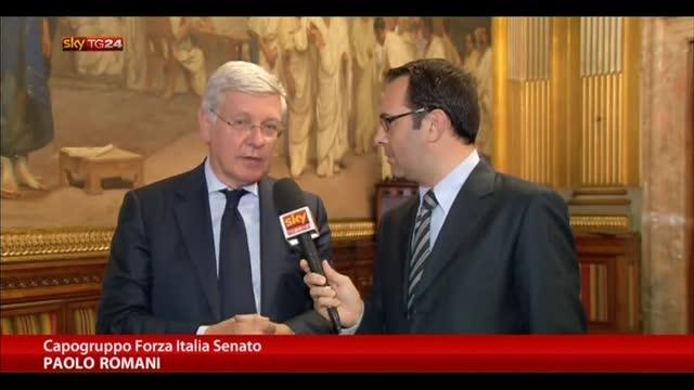 Romani: prima legge elettorale, poi riforma bicameralismo