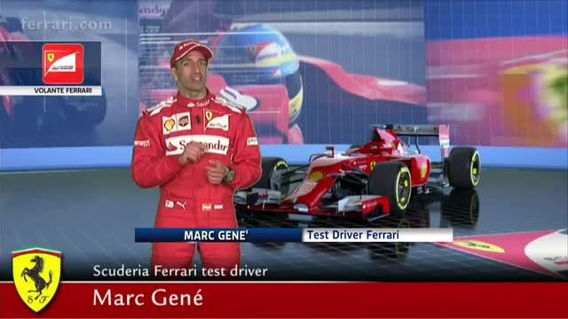 Tutti i segreti del volante della Ferrari