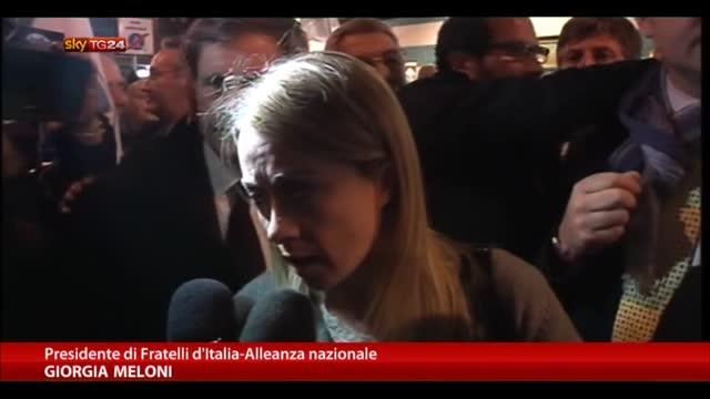 Marò, Meloni: l'Italia deve internazionalizzare la crisi