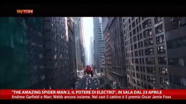"""""""The amazing spiderman. Il potere di Electro"""" dal 23 Aprile"""