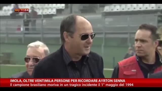 Imola, oltre ventimila persone per ricordare Ayrton Senna