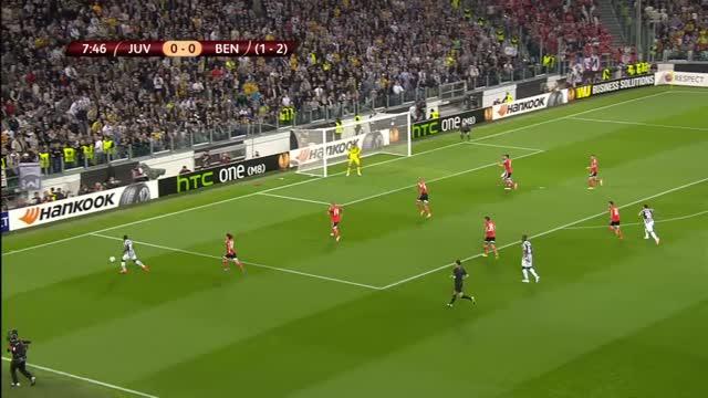 Juventus-Benfica 0-0