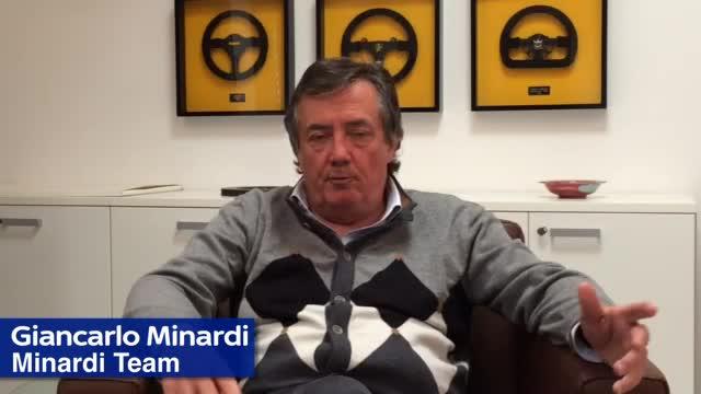 """Minardi: """"Ce ne andiamo in Spagna, con in testa Ayrton"""""""