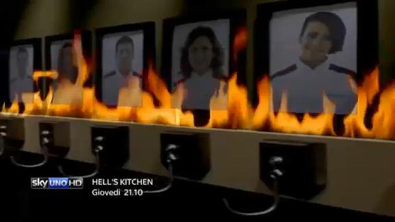 Hell's kitchen Italia - giovedì alle 21.10