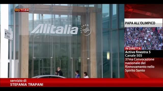 Alitalia, arrivata lettera Etihad. Lupi, giorno decisivo