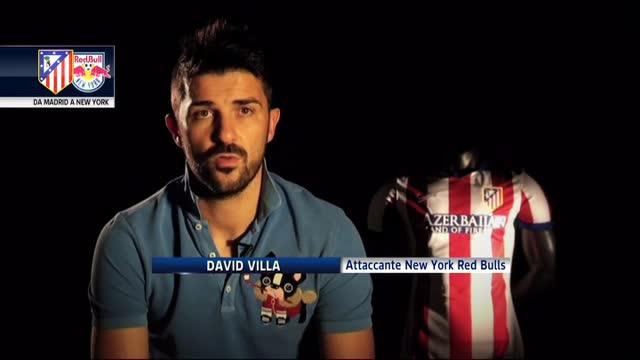 """Villa firma col New York City FC: """"Ma resto Colchonero"""""""