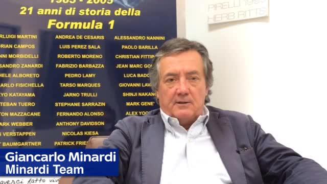 Minardi a ruota libera: Gran Premio del Canada