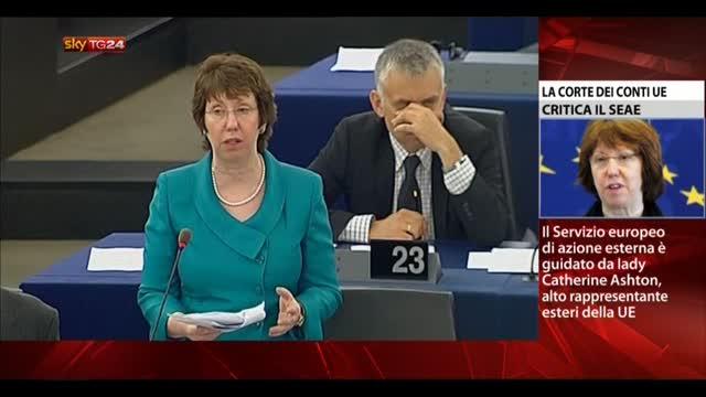 Bruxelles, la Corte dei Conti UE riprende Lady Ashton