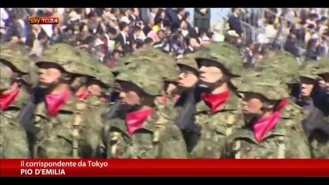"""Giappone, Tokyo approva """"la difesa collettiva"""""""