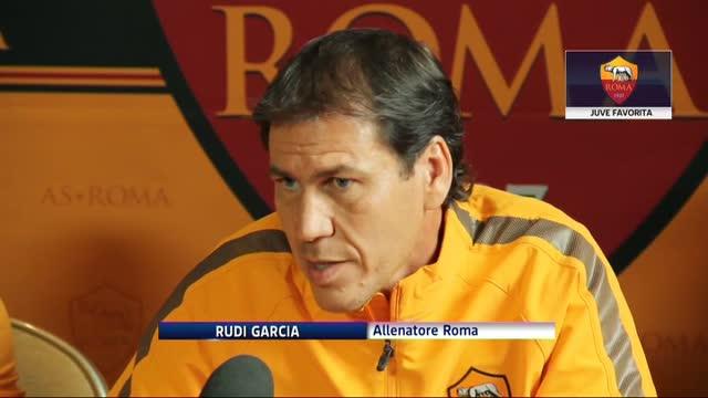 """Rudi Garcia frena gli entusiasmi: """"Juve ancora favorita"""""""