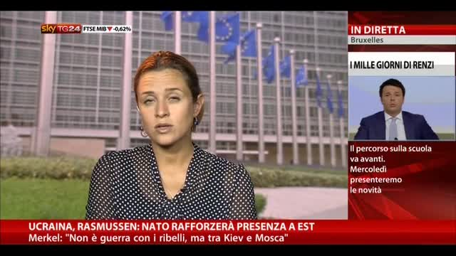 Ucraina, Rasmussen: Nato rafforzerà presenza a est