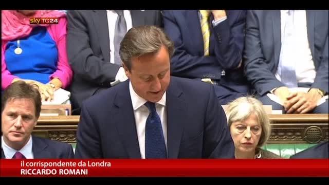 GB, Cameron chiude frontiere ad aspiranti terroristi