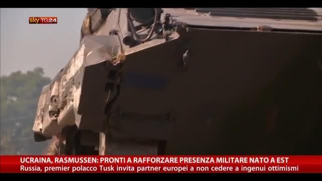 Ucraina, Rasmussen: pronti a rafforzare presenza militare