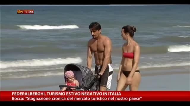 Federalberghi, turismo estivo negativo in Italia